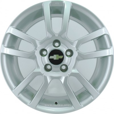 Диск R16 5x105 Replica (GM 58) 6,5J ET39 D56,6 Sil