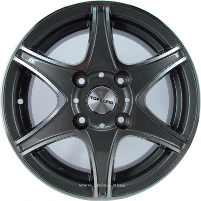 Диск R14 4x114,3 TGRacing L013 5,5J ET38 D73,1 GM Poll