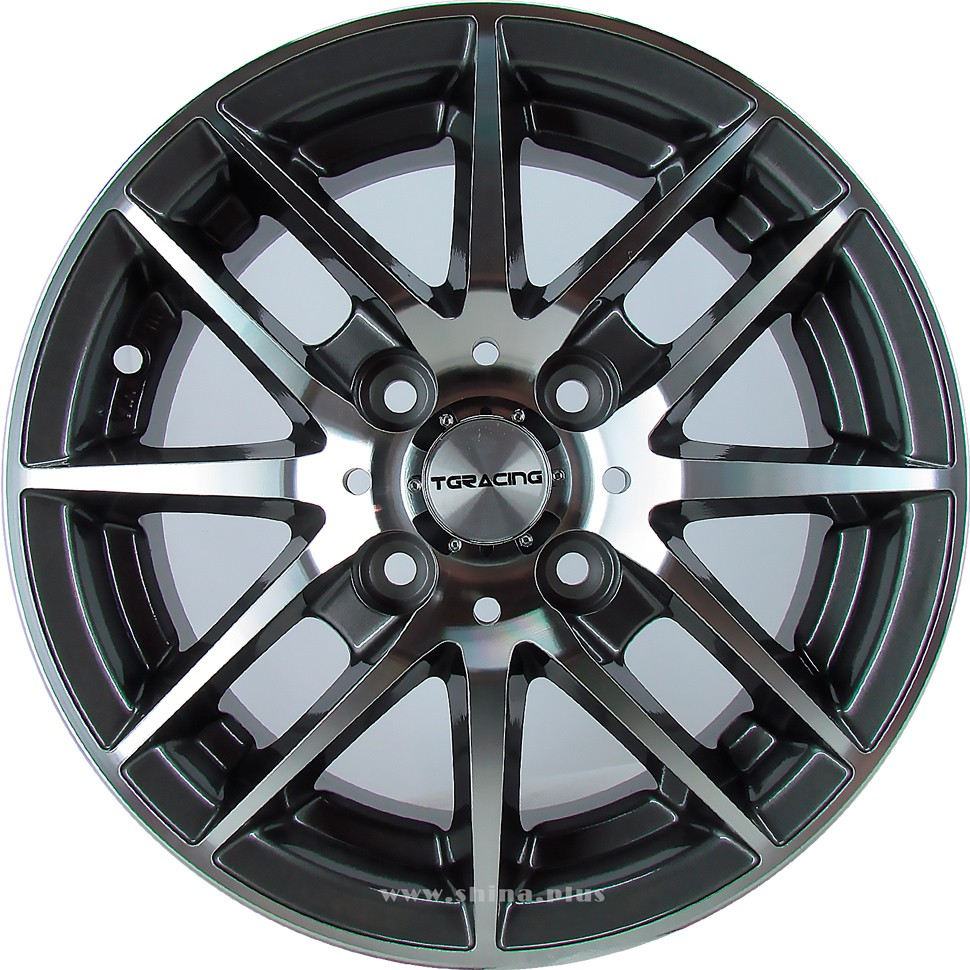 Диск R13 4х100 TGRacing LZ406 5,0J ET43 D60,1 GM/P