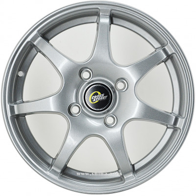 Диск R14 4x100 Cross Street CR-15 5,5J ET43 D60,1 Sil