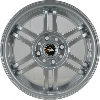 Диск R14 4x100 Cross Street CR-10 6,0J ET43 D60,1 Sil