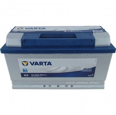 "АКБ 95Ah Varta 595 402 080 Blue dynamic ""G3"" (о.п+) 800A 12V"