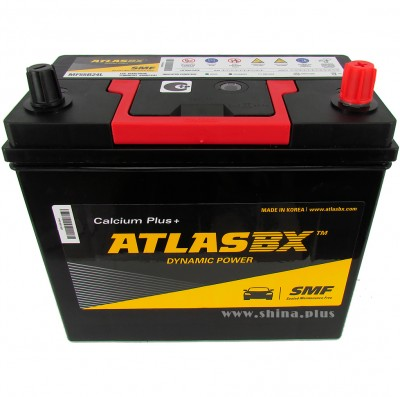 АКБ 45Ah AtlasBX Dynamic Power Calcium+ (MF55B24L)  (о.п+) 430А 12V Азия тонкие клемма