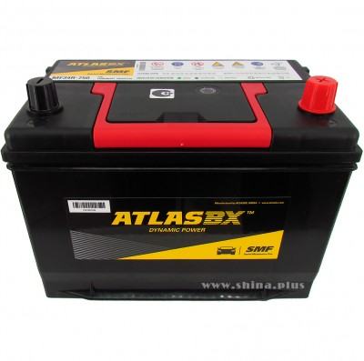 АКБ 85Ah AtlasBX Dynamic Power Calcium+ (MF34R)  (о.п+) 750А 12V Азия